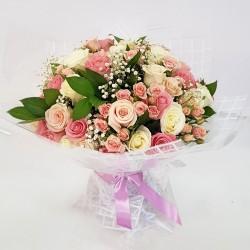 VIP букет из нежных роз