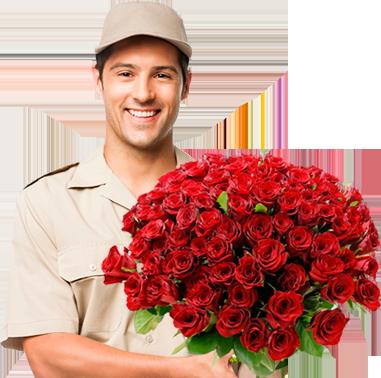 Цветы заказать курьером